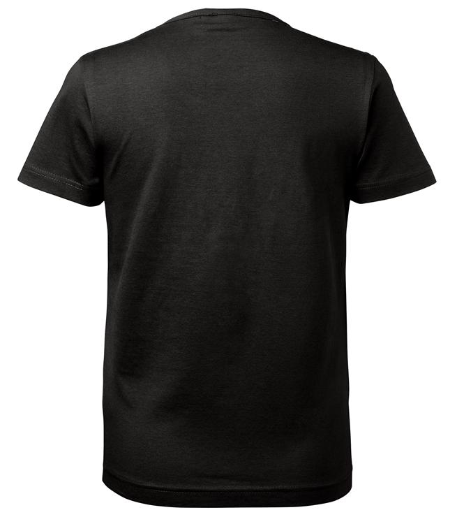 t-paita 6116-199 naisten musta takaa
