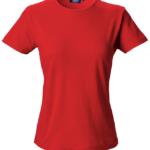 t-paita 6116-199 naisten punainen