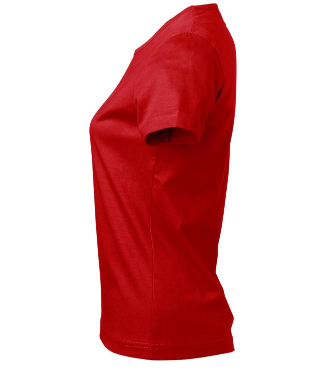 t-paita 6116-199 naisten punainen sivusta