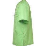 tunika 3511-257 unisex hoito vihreä sivusta