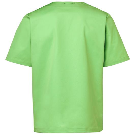 tunika 3511-257 unisex hoito vihreä takaa