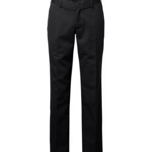housut 1570-201 musta miesten