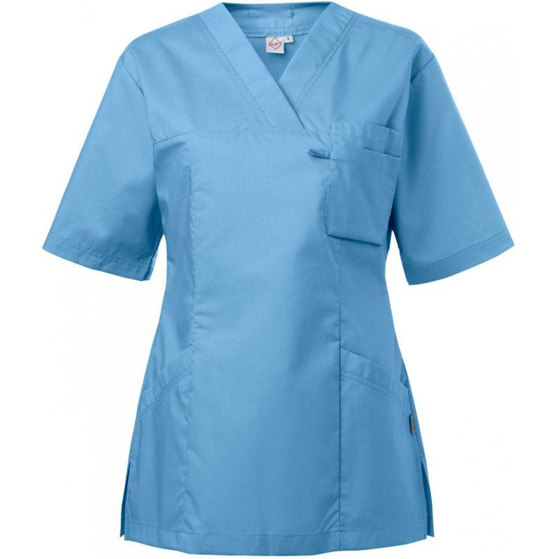 tunika 3536 naisten poistotuote sininen