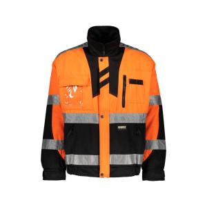 60191 turvatakki dimex oranssi musta