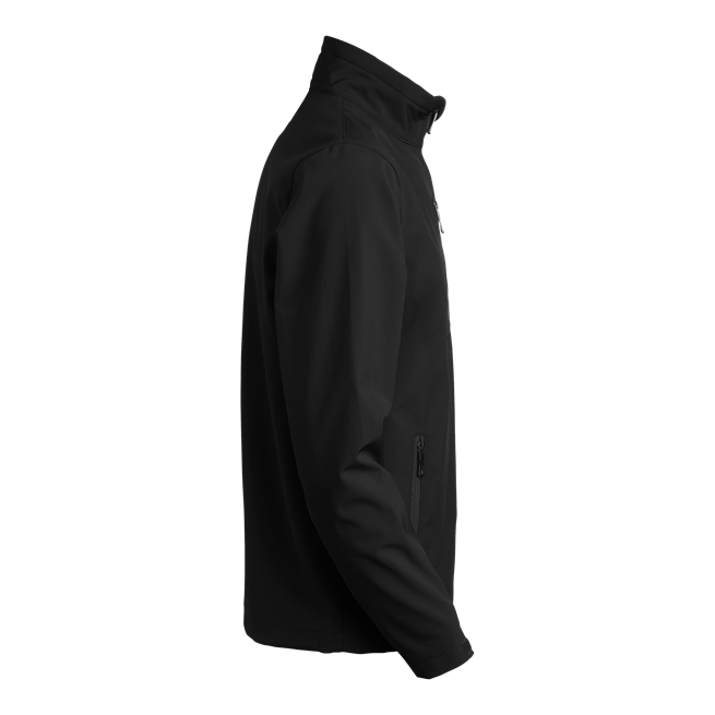 620 atlantic softshell takki musta sivusta