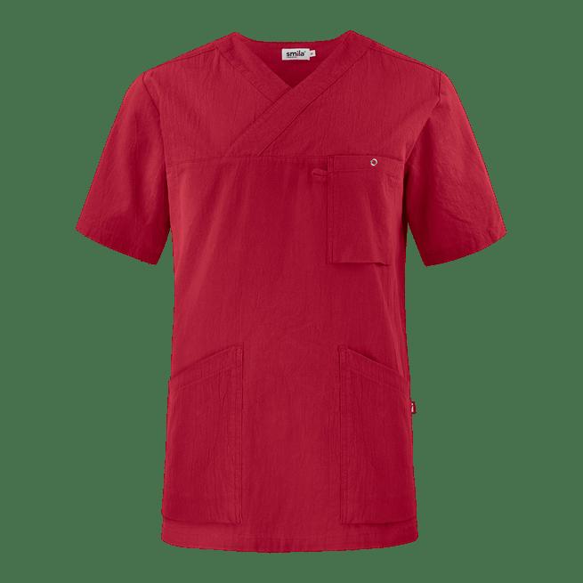 77801 smila tunika unisex punainen