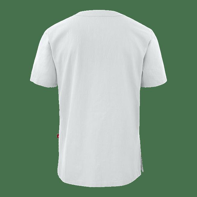 77801 smila tunika unisex valkoinen takaa