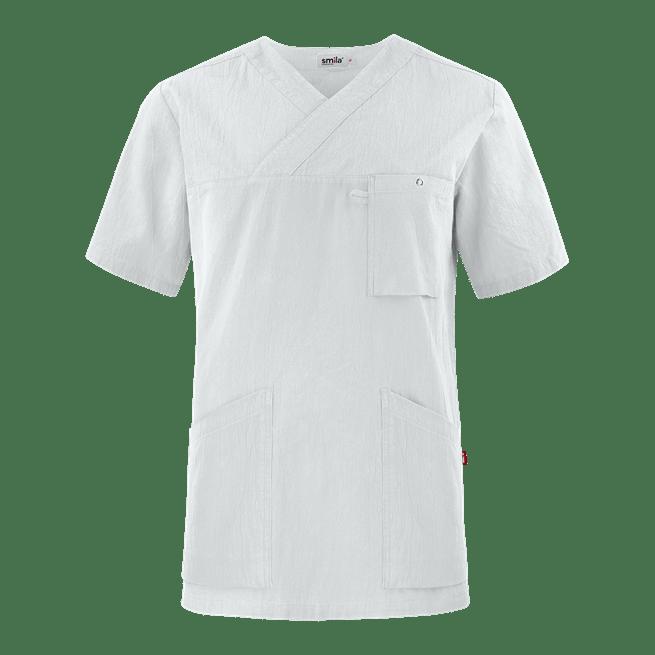 77801 smila tunika unisex valkoinen