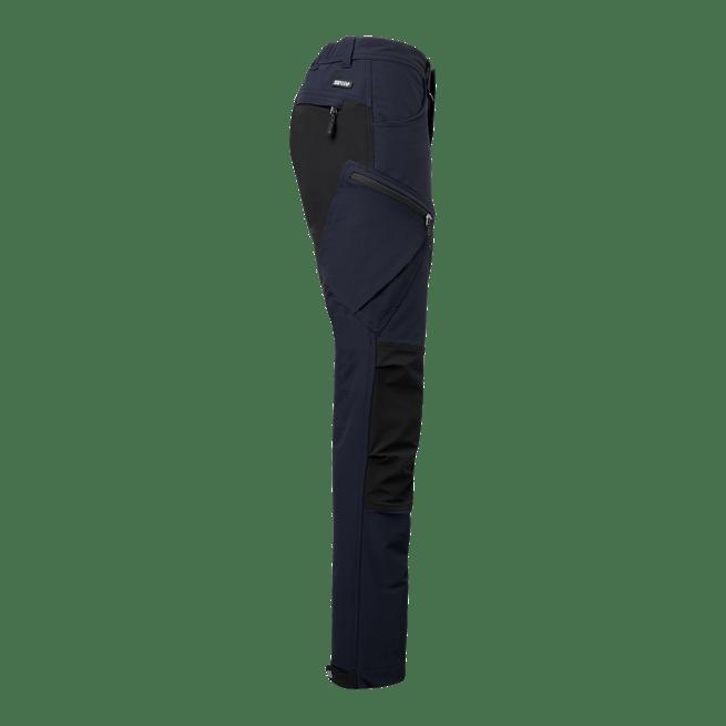 906 wega housut laivastonsininen sivusta