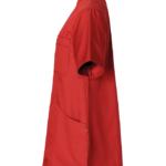 3530 269 naisten plustunika tunika tummanpunainen sivusta