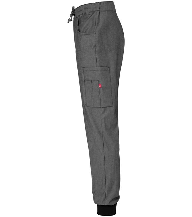 8203 276 resori housut unisex meleerattuharmaa sivusta