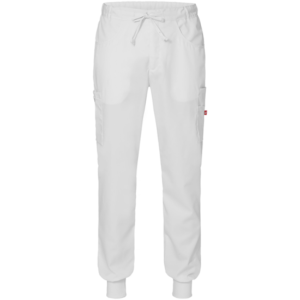 8203 housut unisex valkoiset-resori