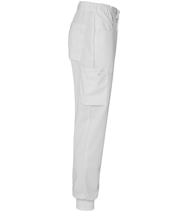 8203 housut unisex valkoiset resori sivusta