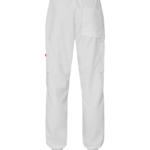 8203 housut unisex valkoiset resori takaa