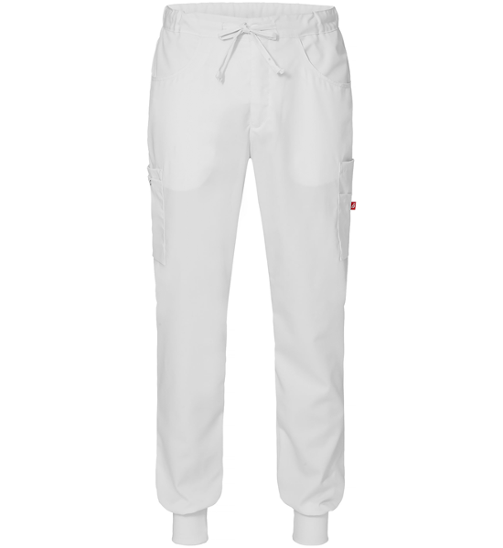 8203 housut unisex valkoiset resori