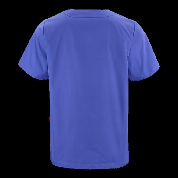 70101 tunika unisex sininen takaa