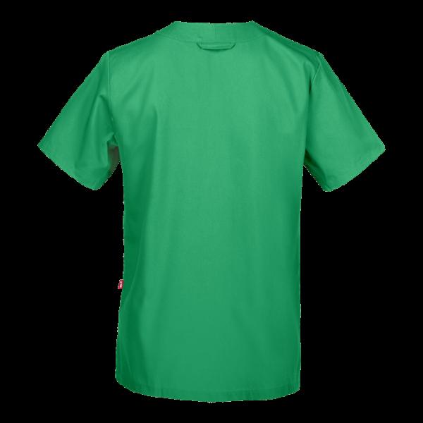 70101 tunika unisex vihreä takaa