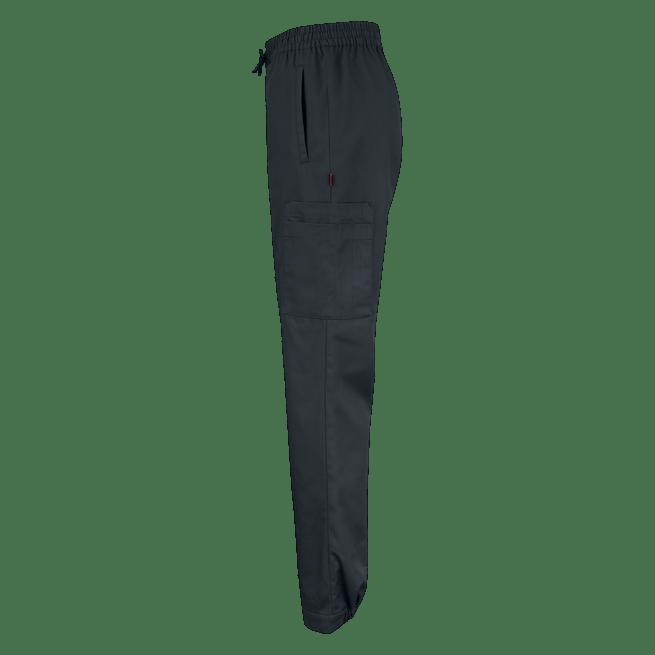 70173 housut unisex musta sivusta