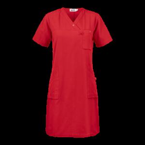 77860 cajsa tunika mekko punainen