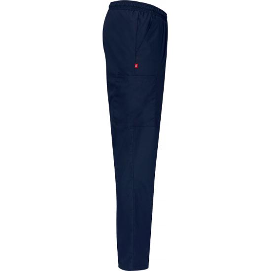 8601 housut laivastonsininen unisex sivusta