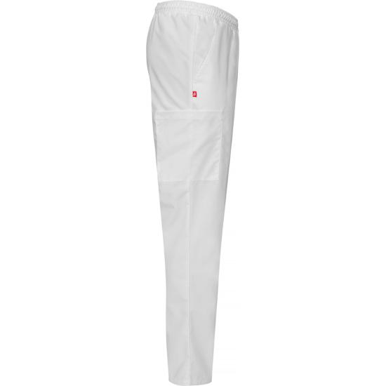 8601 housut valkoinen unisex sivusta