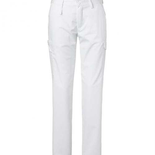 Naisten housut 8602-280 valkoinen