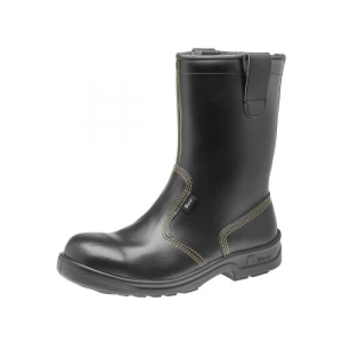 offshore 52039 turvajalkine saapaat kengät musta sievi