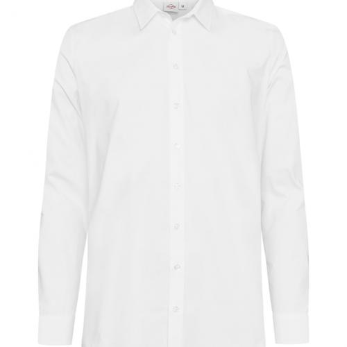 paita 1219-323 miesten kauluspaita valkoinen