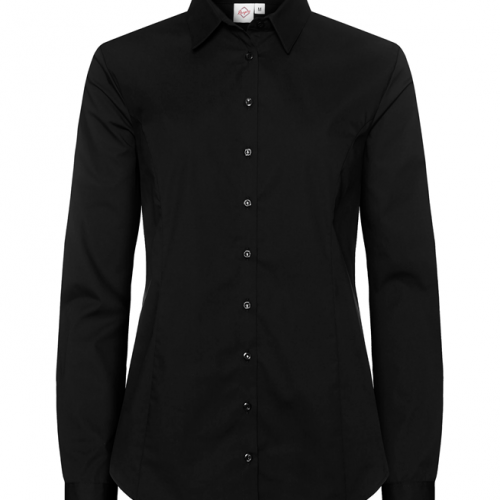 paita 1226-323 naisten stretch musta