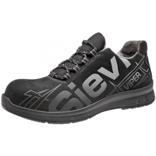 sieviviper3 52171 turvajalkineet sievi kengät musta