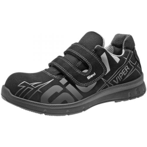sieviviper4 52187 turvajalkineet kengät musta sievi